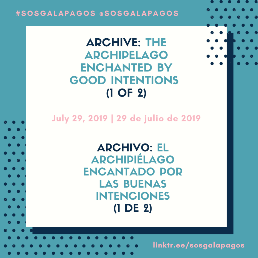 Archive: The Archipelago Enchanted By Good Intentions(2019)