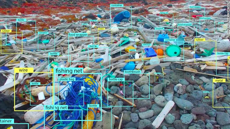 Drones are helping to clean up the world's plasticpollution