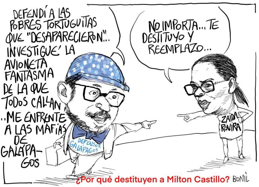 #ColumnaDeBonil: ¿Por qué destituyen a MiltonCastillo?